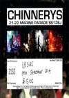 Anti-Nowhere League + U.K. Subs + Hotwired - Live at Chinnerys, Southend-on-Sea, Essex - Friday September 19th, 2014 - Ticket