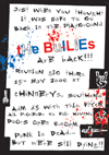 The Bullies + Sam Atkins - Live at Chinnery's - 15.05.08