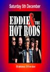 Eddie & The Hot Rods + Headline Maniac - Live at Club Riga at O'Neill's, Southend-on-Sea, Essex, Saturday December 5th, 2015 - Advert