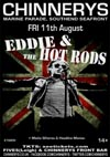 Eddie & The Hot Rods + The Media Whores + Headline Maniac - Live at Chinnerys, Southend-on-Sea, Essex, Friday August 11th, 2017 - Poster