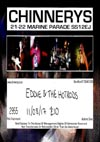 Eddie & The Hot Rods + The Media Whores + Headline Maniac - Live at Chinnerys, Southend-on-Sea, Essex, Friday August 11th, 2017 - Ticket