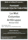 'Farewell Focus Youth Theatre' - 09.10.10