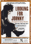 Film Screening of 'Looking For Johnny - The Legend of Johnny Thunders' + Steve Hooker Stripped Down Stompin' Band - Beecroft Art Gallery, Southend-on-Sea - Saturday 15th July 2017