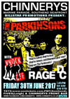 The Parkinsons + Knock Off + Rage DC - Live at Chinnerys, Southend-on-Sea, Essex on Friday June 30th, 2017