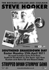 Steve Hooker's Stripped Down Stompin' Band - Live at The Kursaal Function Suite - 'Southend Shakedown Day'- Easter Monday, April 25th, 2011