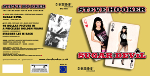 "Steve Hooker - 'Sugar Devil' - 7"" Single - Full Sleeve"