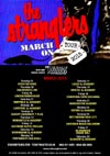 The Stranglers + The Rezillos - Live at The Cliffs Pavilion, Southend-on-Sea, Essex - Friday March 13th, 2015 - Tour Poster