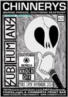 Subhumans + The Dogtown Rebels + Knock Off - Live at Chinnerys, Southend-on-Sea, Essex - Tuesday November 18th, 2014 - Poster