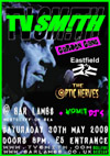 TV Smith + The Garden Gang + Eastfield + The Optic Nerves - Live at Bar Lambs, Westcliff - 30.05.09