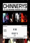 U.K. Subs + Knock Off + 16 Guns - Live at Chinnerys, Southend-on-Sea, Essex - Friday September 18th, 2015 - Ticket
