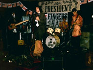'The President Fingers Hat Band'