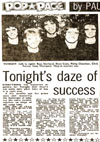 Tonight - Newspaper Clipping