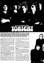 Tonight press - Care of The Tonight Archive