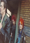 Chelmsford Punks - John and Weed at Zeebrugge Station