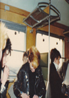 Chelmsford Punks - Keith on Train to Ostend, Belgium 20.02.82