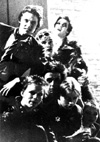 Chelmsford Punks - Martyn Lightfoot, Martin Keeble, Martin Beacon, Crispin Coulson, Sean Byrne, David Parkington, Alison Kay - 1977