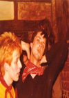 Chelmsford Punks - Crispin Coulson on right