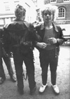 Chelmsford Punks - Outside The Lion & Lamb: (Aka 'The Animals') - Fred Hutson + Dave - 1978