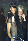 Chelmsford Punks - Basher and Angus at Crocs, 1981
