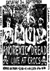 Anorexic Dread - Live at Crocs - 03.09.83 - Poster