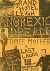 Anorexic Dread + Three Mothers + The Last Laugh - Live at The Grand Hotel, Leigh - 24.07.83 - Poster