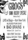 Bad Brains - Live at Crocs - 02.05.83 - Press Advert