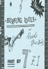 The Burning Idols - Live at Reids - 07.11.86