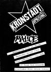 The Kronstadt Uprising + Malice - Live at Reids - 13.03.86 - Poster