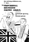 The Provisional Southend Poetry Group - Live at The Railway - 07.05.83 - Poster