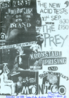 Kronstadt Uprising + The Prey + Stax Century - Live at the Monico, Canvey Island - 10.09.85 - Poster