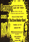 The Steve Hooker Band - Live at Scamps - 12.07.79 - Ticket
