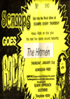 The Hitmen - Live at Scamps - 31.01.80 - Ticket