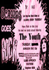 The Youth - Live at Scamps - 12.06.80 - Ticket