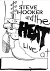 Steve Hooker and The Heat - Artwork inside The Heat EP - 1977