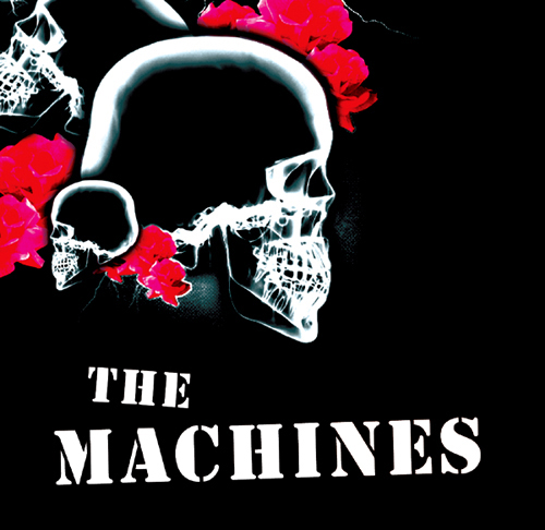 The Machines - 'The Machines' - CD (Angels in Exile Records AIECD 001)