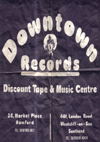 "Downtown Records - 7"" Single Bag"