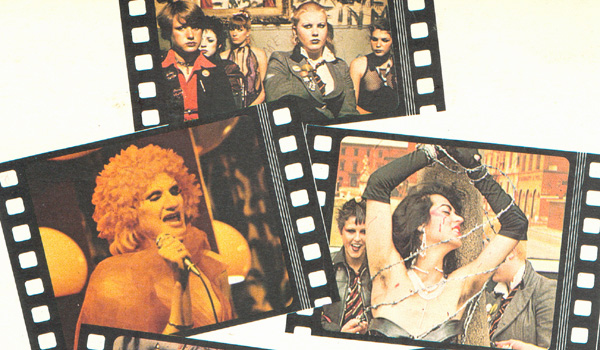 Rear sleeve section from the 'Jubilee' Album, 1978