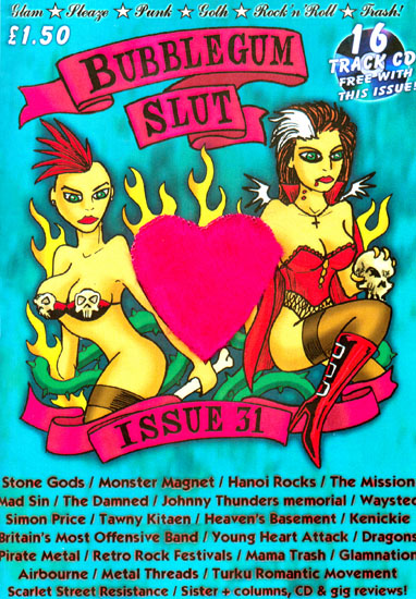 Bubblegum Slut Fanzine Issue 31 - Summer 2008