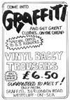 Graffiti Add from Strange Stories Fanzine