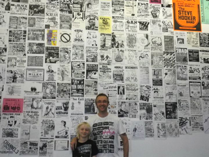 Visual Vitriol - An Exhibition by David Ensminger - Rough Trade East - 01.08.11 till 31.08.11 - Photograph by Dave Collins