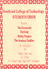 The Kronstadt Uprising + Sticky Fingers + The Armless Teddies - Live at The Southend College of Technology - 16.05.86 - Ticket