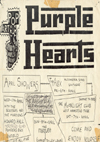 The Purple Hearts - Live at The Top Alex - Flyer