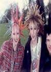 Kerry, Janet and Johnny at The Anarchist Picnic, London - May 5th 1985