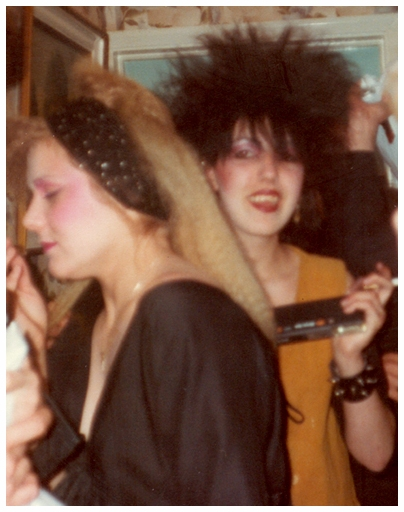 Jacqui at Party - 1983