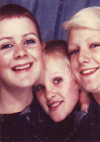Sally, Karen and Annette - Southend - 1981
