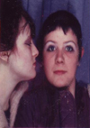 Ruth and Sally - Southend - 1981