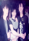 The Basildon Crew - Derren, Bago & Brian - at Crocs, 1982