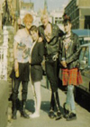Mark, Clare, Pat and Michele - Western Road, Southend - 1982