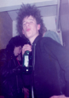 Steve Ritchie (Vom) at Party in Wickford - 1982