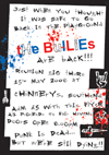The School Bullies Reunion - Chinnerys - 15.05.08 - Poster